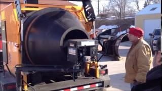 Traverse City DPS Asphalt Recycler Demo