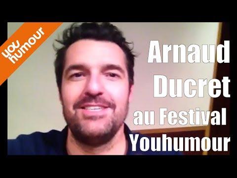 J-23 : Arnaud Ducret au Festival Youhumour à Nantes !
