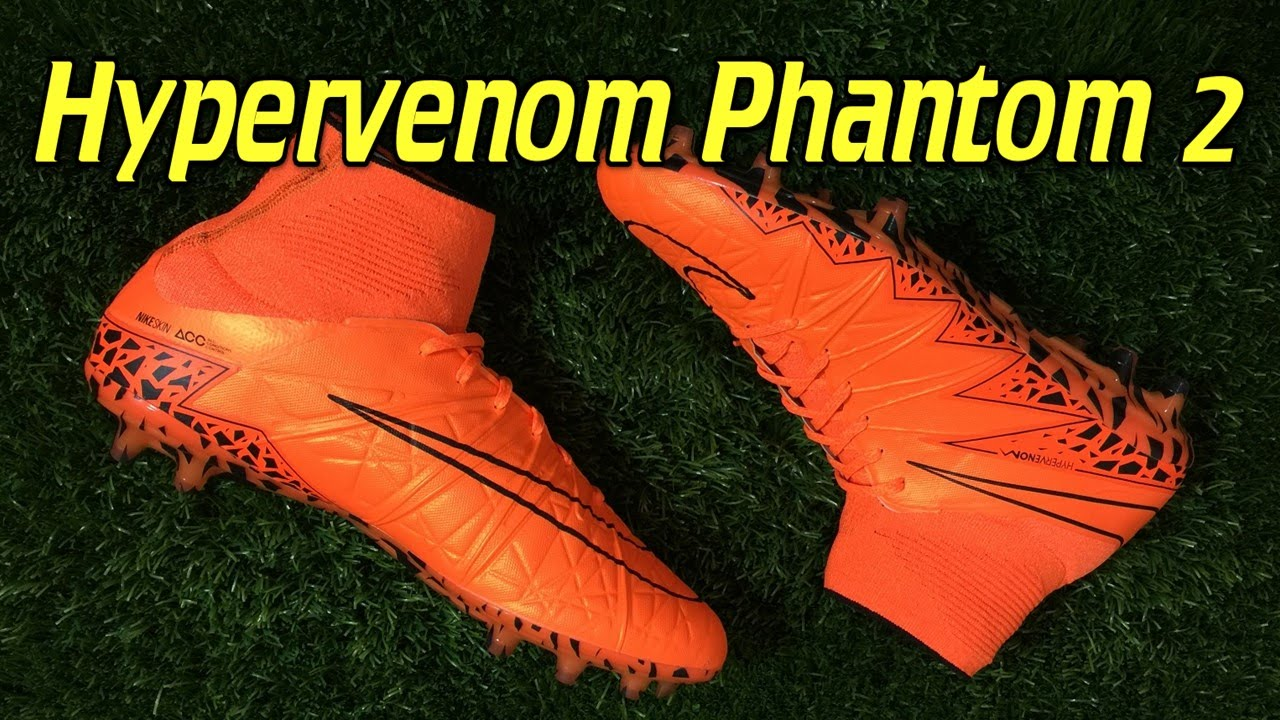 buy online 1a99c 75886 Nike Hypervenom Phantom 2 Total Orange Lightning Storm - Review + On Feet