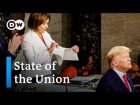 Key Takeaways Of Trump's 2020 State Of The Union Address | DW News