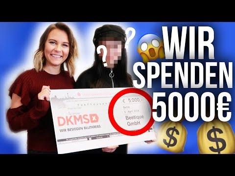 WIR spenden 5000€ 😱   Dagi VLOG