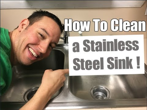 How To Clean a Stainless Steel Sink | Clean With Confidence