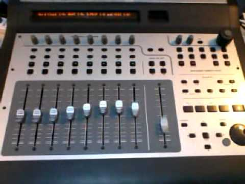 m audio project mix i o firewire audio interface control surface youtube. Black Bedroom Furniture Sets. Home Design Ideas