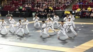 2017 US Open TKD Hanmadang Kukkiwon Demo