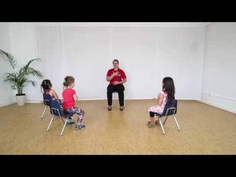 3-Minute Chair Yoga Class for Kids | Ages 3-5