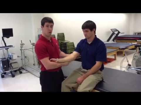 teste de estresse para dores no braço