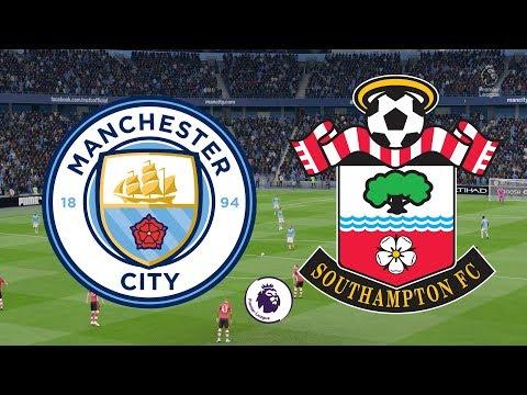 Premier League 2019/20 - Manchester City Vs Southampton - 02/11/19 - FIFA 20