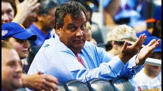 Chris Christie Booed After Catching Fly Ball At Mets Game