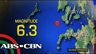 Quake shakes Visayas areas