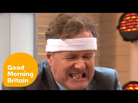 Piers Shows off His New Fitness DVD | Good Morning Britain
