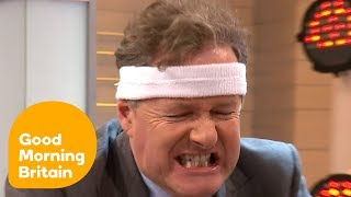 connectYoutube - Piers Shows off His New Fitness DVD | Good Morning Britain