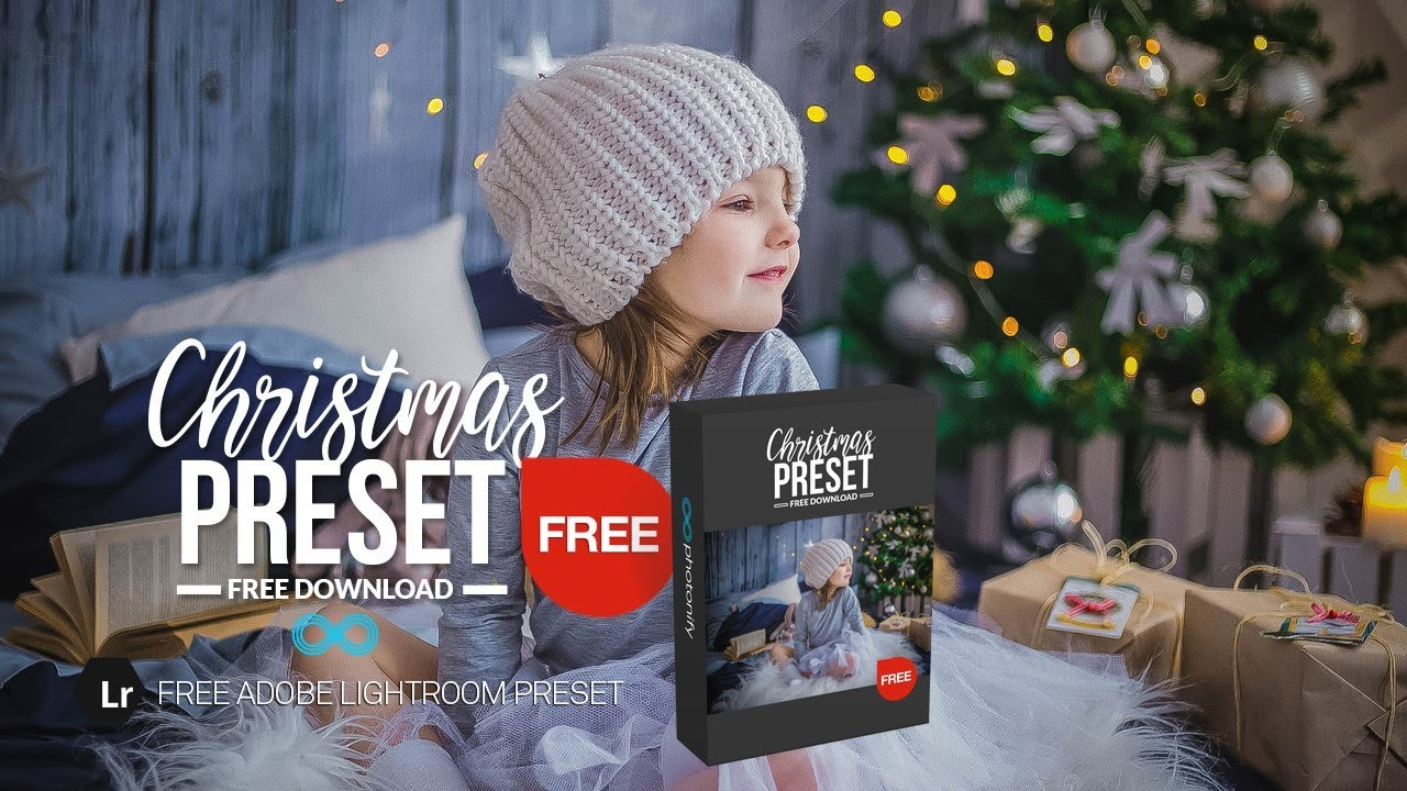 Free Christmas Lightroom Preset for Family Portraits by Photonify