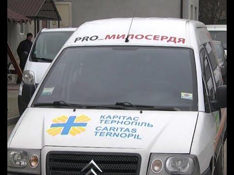 Телеканал ІНТБ: У Тернополі «Карітас» доставлятиме потребуючим  їжу додому