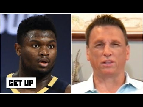 Tim Legler is shocked by the Pelicans limiting Zion Williamson's minutes | Get Up
