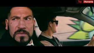 Момент из фильма Малыш на драйве (2017) Baby Driver