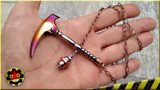 Kusarigama Ninja Pendant Necklace How to Make, of bolt