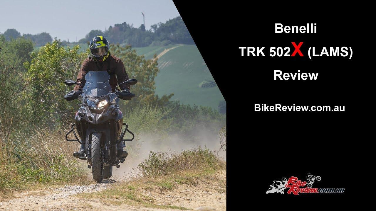 2018 Benelli Trk 502x Lams Adventure Tourer Review Youtube