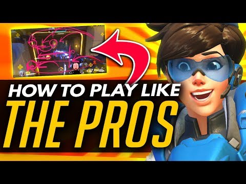 Overwatch   How To Play like the PROS - Analysis OWL Guide ft Jayne