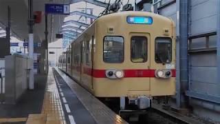 西鉄貝塚線普通列車(新宮行き)・西鉄千早駅を発車