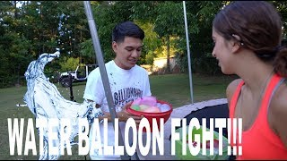 Video WATER BALLOON FIGHT!!! download MP3, 3GP, MP4, WEBM, AVI, FLV Desember 2017