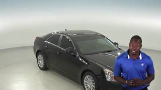 A96707PT - Used, 2011, Cadillac CTS, AWD, Black, Sedan, Test Drive, Review, For Sale -
