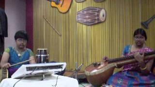 Veena Anjani - Kannan Oru Kai Kuzhanthai song.