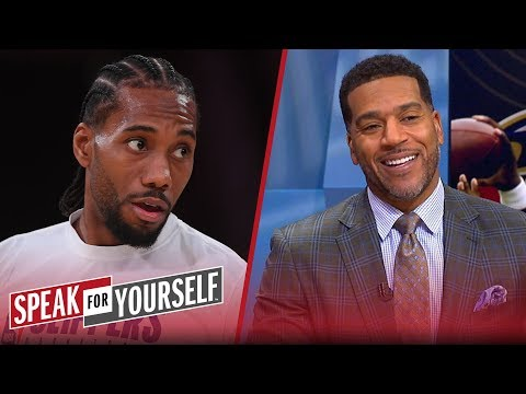 Kawhi deserved Male Athlete of the Year over Lamar Jackson — Jim Jackson | NBA | SPEAK FOR YOURSELF