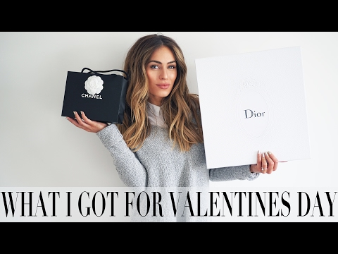 WHAT I DID & GOT FOR VALENTINES DAY | Lydia Elise Millen
