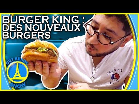 BURGER KING : ENFIN DES NOUVEAUX BURGERS ! (CHEESE LOVER) - GET READY SHOW #106
