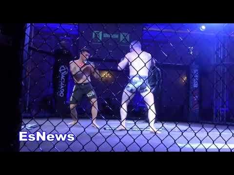 Mel Gibson Enjoying MMA Fights At Smash Event EsNews Boxing