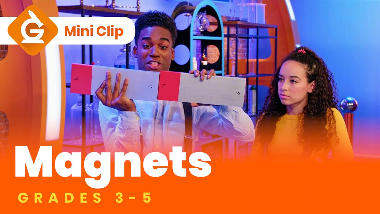Magnets for Kids   Science Lesson for Grades 3-5   Mini-Clip - YouTube [ 720 x 1280 Pixel ]