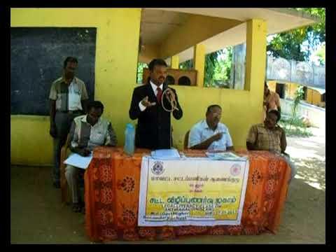 Legal Literacy Class on 27-07-2017 at Govt Hr Sec School, Thiruvanthipuram.