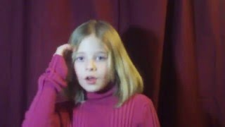 Think of Me - Phantom of the Opera - Jackie Evancho 8 yrs