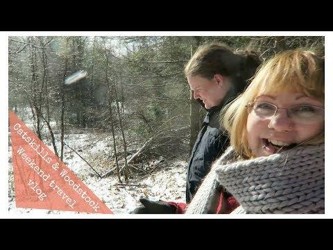Exploring Catskills, & Woodstock, NY - Weekend travel vlog