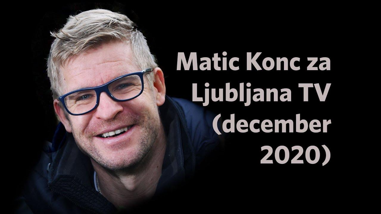 VIDEO🎥: Matic Konc o smrekovi smoli 🌲 in začetkih podjetja Smrekovit | Pogovor na Ljubljana TV
