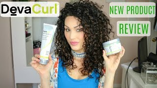 DEEP Conditioning with DevaCurl's NEW Product's | The Glam Belle