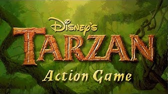 Tarzan Action Game (PC) Full 100% Walkthrough