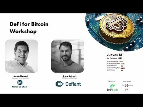 DeFi for Bitcoin