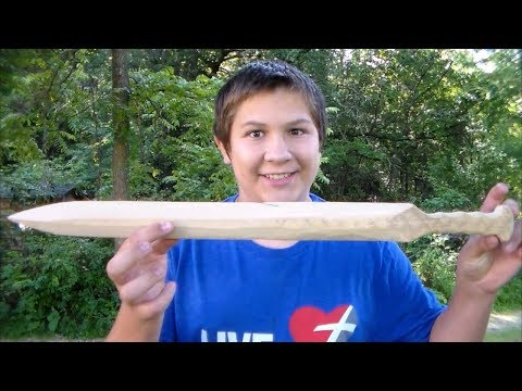 How to make a wooden Gladiator sword