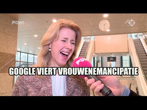 Google viert vrouwenemancipatie