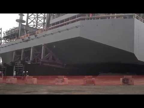 AMTEX Video - Oil Platform Launching....