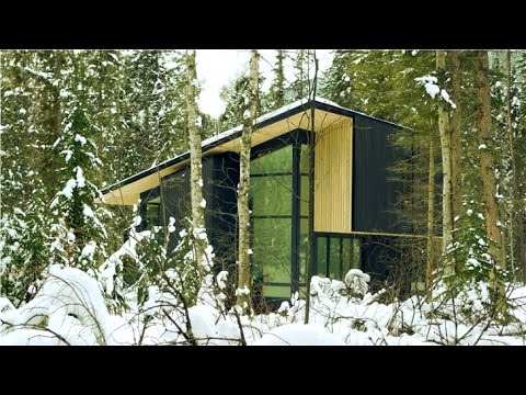 Form and Forest's Beautiful Flat Pack Prefab Concept in British Columbia