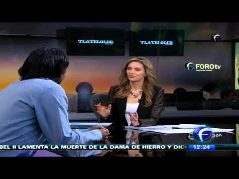 Entrevista con Carlos Bolado, Director de la Pelicula Tlaltelolco.  Abril    2013