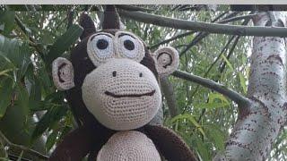 Amigurumi kukuli maymun tarifi el ve kol  (bolum 4)