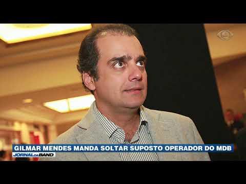 Gilmar Mendes Manda Soltar Milton Lyra