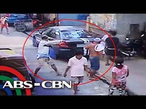 TV Patrol: Pamamaril sa lalaki sa Caloocan, sapul sa CCTV
