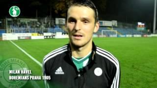 21. 10. 2016 - FC Fastav Zlín - Bohemians Praha 1905 1:1 (1:0) - pozápasové rozhovory