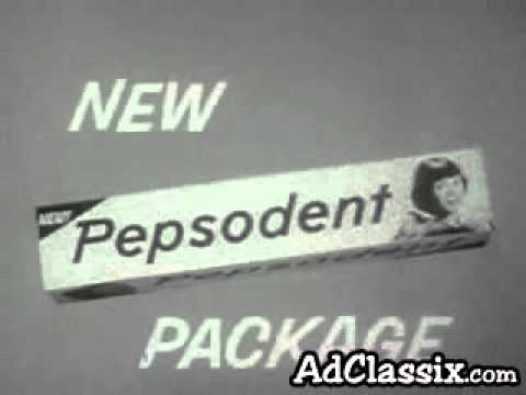 Pepsodent Toothpaste Classic TV Commerial (1948)