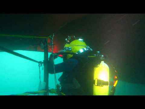 NICO CRAFT, SAMCO TAIGA WET WELDING BY: Bobot @ Fujairah Anchorage...