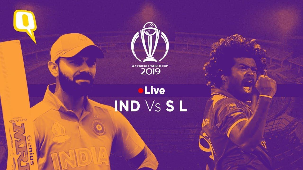 India v Sri Lanka: Cricket World Cup 2019  live!